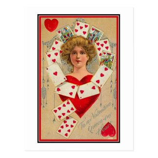 Reina de mi corazón (2) postal