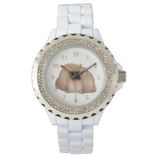 Reina de Pekingese Reloj De Mano