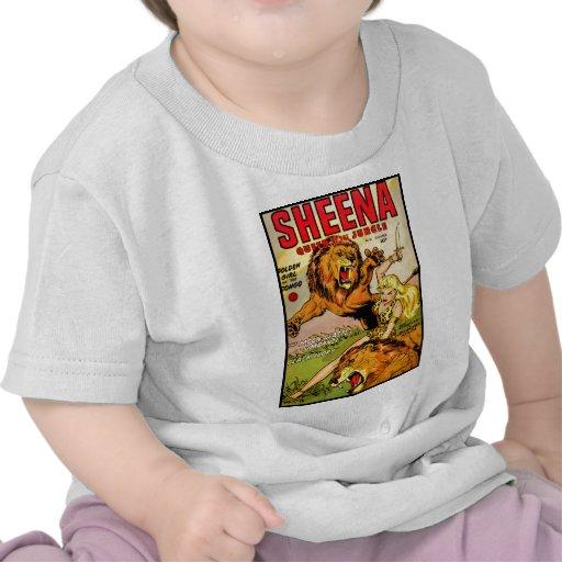 Reina de Sheena de la selva Camisetas
