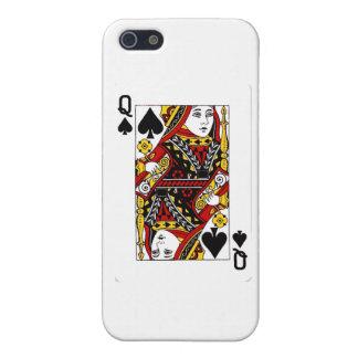 reina de spades.png iPhone 5 cárcasas