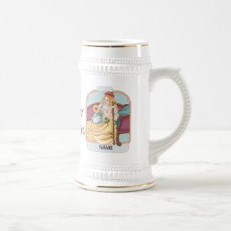 Reina de Tarot de varas Taza De Café