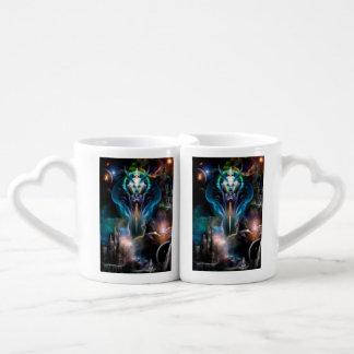 Reina de Thera de las tazas de los amantes del Taza Para Enamorados