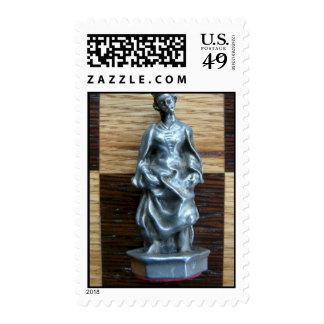 Reina del ajedrez sello