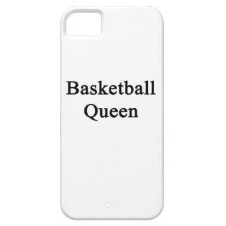 Reina del baloncesto iPhone 5 carcasas