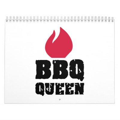 Reina del Bbq Calendario
