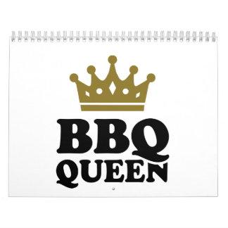 Reina del Bbq Calendarios