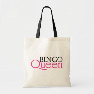 Reina del bingo bolsas de mano