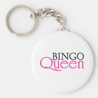 Reina del bingo llavero personalizado