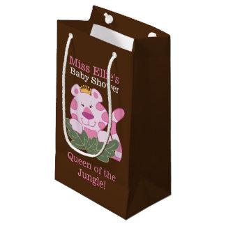 Reina del bolso de encargo del regalo del tigre bolsa de regalo pequeña