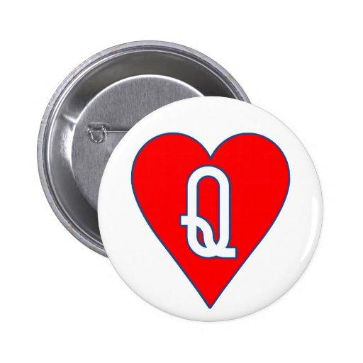 Reina del botón de los corazones