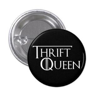 Reina del botón de Thrifting Pin Redondo De 1 Pulgada