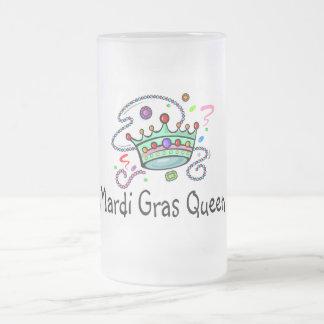 Reina del carnaval tazas de café