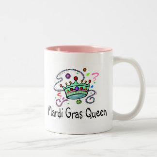 Reina del carnaval tazas