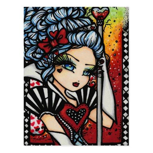 Reina del chica de hadas del arte de la fantasía tarjetas postales