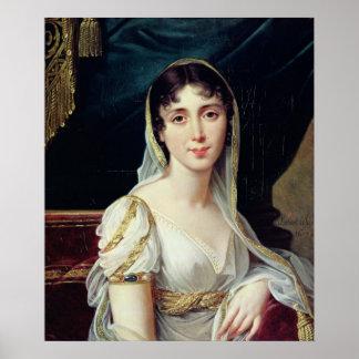 Reina del Clary de Desiree de Suecia, 1807 Póster