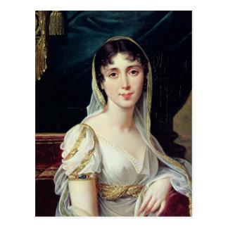 Reina del Clary de Desiree de Suecia 1807 Postal