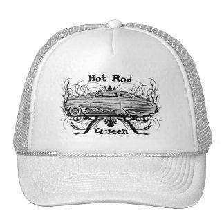Reina del coche de carreras gorra