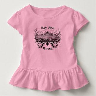Reina del coche de carreras t shirts