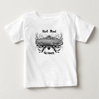 Reina del coche de carreras t-shirts