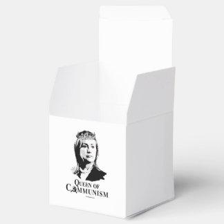 Reina del comunismo cajas para detalles de boda