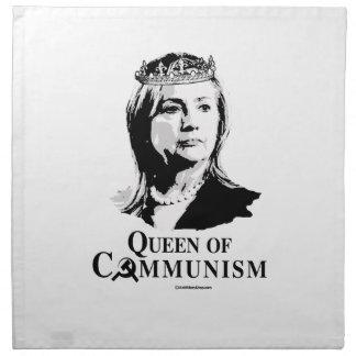 Reina del comunismo servilletas de papel