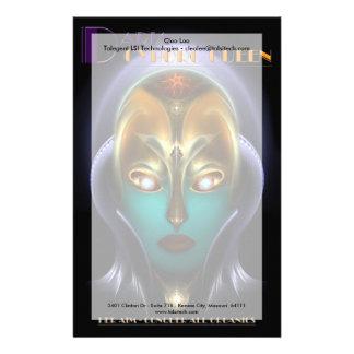 Reina del Cyborg de Daria Papelería Personalizada