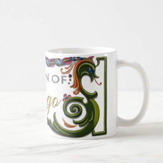 ¡Reina del diseño exclusivo del tango! Taza De Café