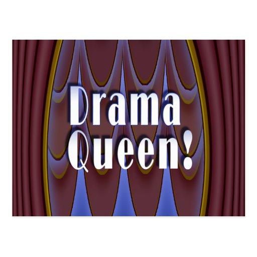 ¡Reina del drama! Tarjetas Postales
