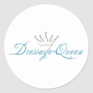 Reina del Dressage Etiqueta