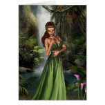 Reina del duende tarjeta