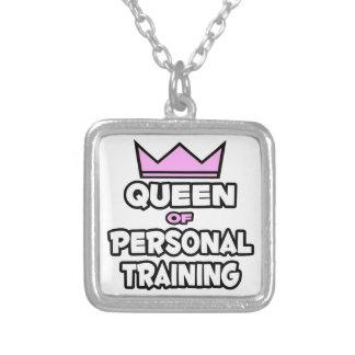 Reina del entrenamiento personal colgante cuadrado