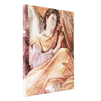 Reina del estilo del Barroco del cielo y de los Lienzo Envuelto Para Galerías
