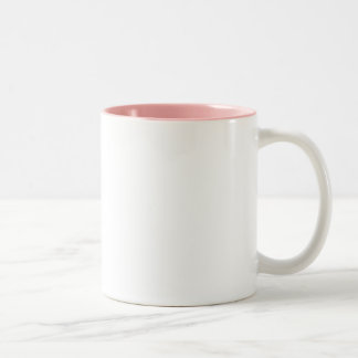 Reina del filósofo (crwn) del pnk 2tone rosado (ma taza