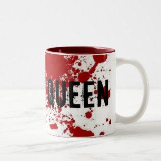 Reina del grito taza de dos tonos