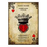 Reina del Grunge de corazones Plantillas De Tarjeta De Negocio