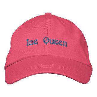 Reina del hielo gorras bordadas