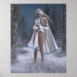 Reina del hielo póster