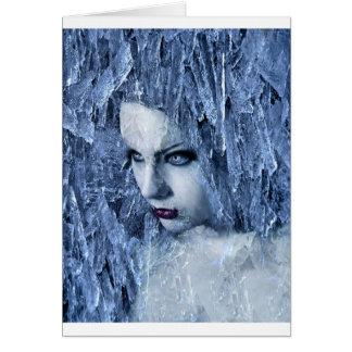 reina del hielo tarjeton