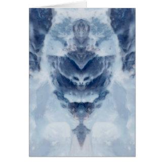 Reina del hielo tarjeta de felicitación