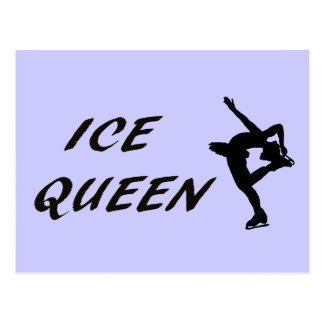 Reina del hielo postal