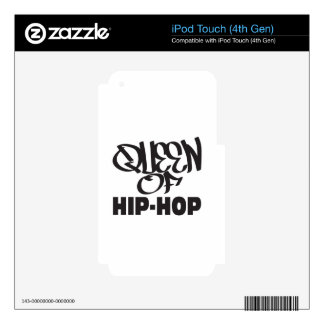reina del hip-hop skins para iPod touch 4G