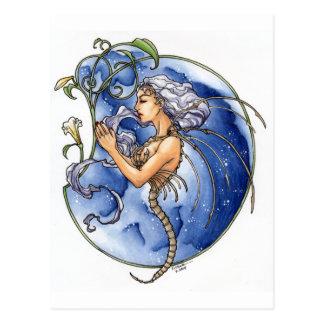 Reina del hueso tarjeta postal