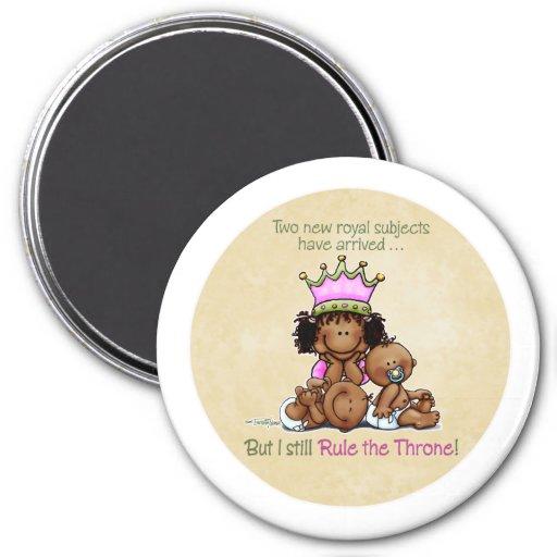 Reina del imán afroamericano de la hermana grande