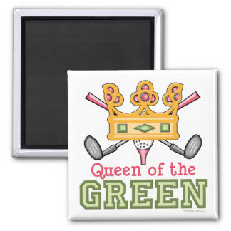 Reina del imán verde del golf