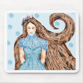 Reina del invierno tapete de raton