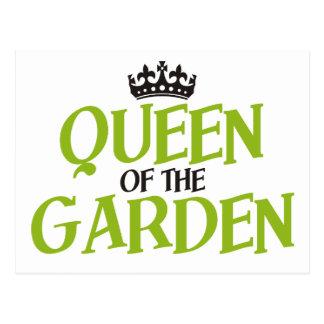 Reina del jardín tarjetas postales
