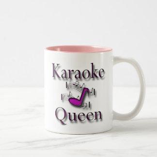 Reina del Karaoke Taza Dos Tonos
