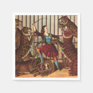 Reina del león de la CAMISETA Servilleta De Papel