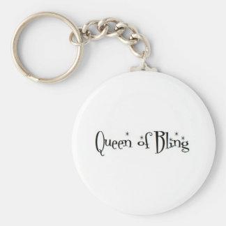 Reina del llavero de Bling