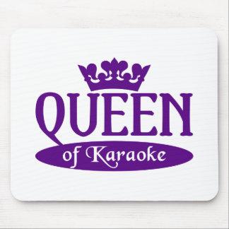Reina del mousepad del Karaoke Tapete De Raton